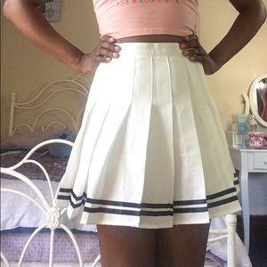 Dresses & Skirts - White Tennis Skirt